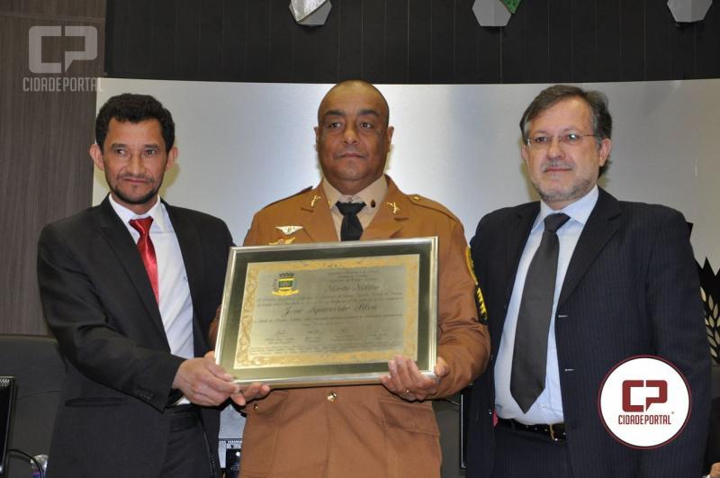 Campo Mourão outorga honraria ao sargento J. Silva, da Polícia Militar