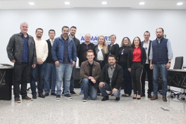 Acimacar: Diretores da Acicam visitaram mais uma associação comercial em Campo Mourão