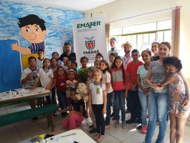 006c244c06ca88 Emater em parceria com a Prefeitura municipal de Iretama realiza ...