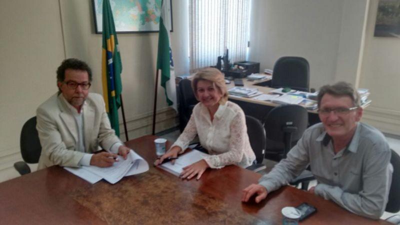 Em visita ao IPAGUAS, prefeita de Farol recebe ótimas notícias