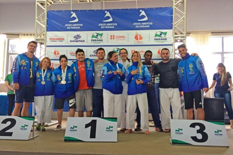 Karatê Mourãoense faz bonito nos 60ª Jogos Abertos em Apucarana