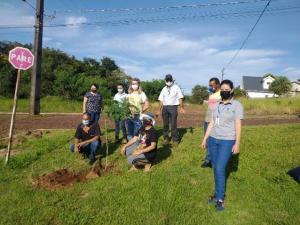 """Evento em parceria celebra """"Dia da água"""" em Mamborê"""