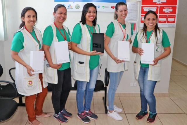 Tablets e Computadores são entregues para Unidades Básicas de Saúde de Campo Mourão