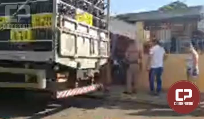Homem de 35 anos foi esfaqueado no rosto em Campo Mourão na tarde deste sábado, 22