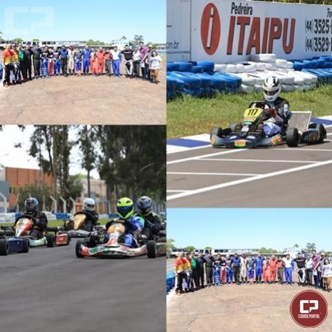 Realizada no domingo etapa Fernando Duglosz no Kartódromo em Campo Mourão