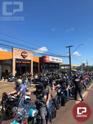 PRE realizou trabalho de apoio ao evento de 1º Aniversário da Harley Davidson em Cascavel