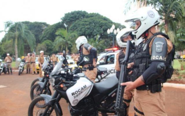Operação Tiradentes reforça combate ao crime em Campo Mourão e região