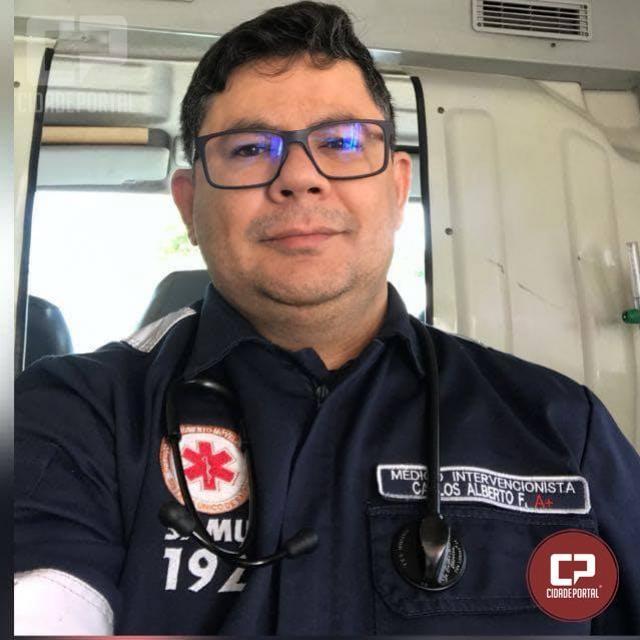 Médico Mourãoense faz capacitação em resgate aeromédico em São Paulo