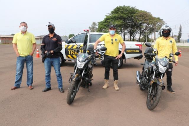 Agentes de trânsito municipais de Campo Mourão recebem treinamentos