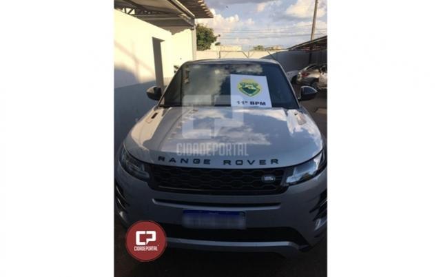 Polícia Militar de Campo Mourão recupera Land Rover que foi furtada em Pitanga
