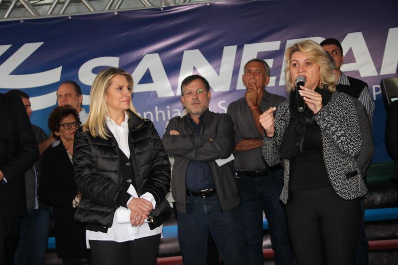 Presidente da Comcam recepciona  governadora do PR e destaca parceria