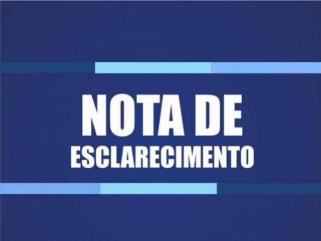 Nota de Esclarecimento - Ação do Ministério Público de Campo Mourão