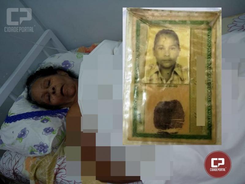 Procura-se familiares de Neuza Nunes na cidade de Campo Mourão, ela hospitalizada e necessita de ajuda