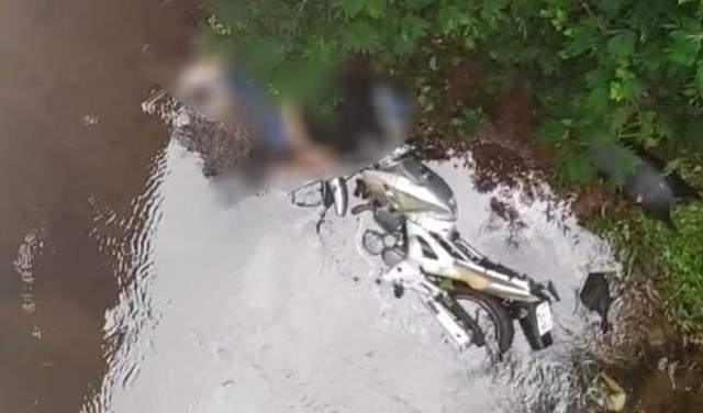 Homem de 54 anos morre após cair de cima da ponte do Rio Claro entre Peabiru e Araruna