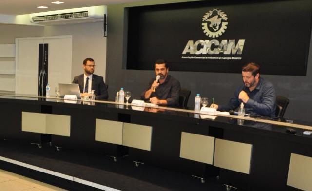Reunião mensal da Acicam foi através de live no Facebook nesta quarta-feira, 25