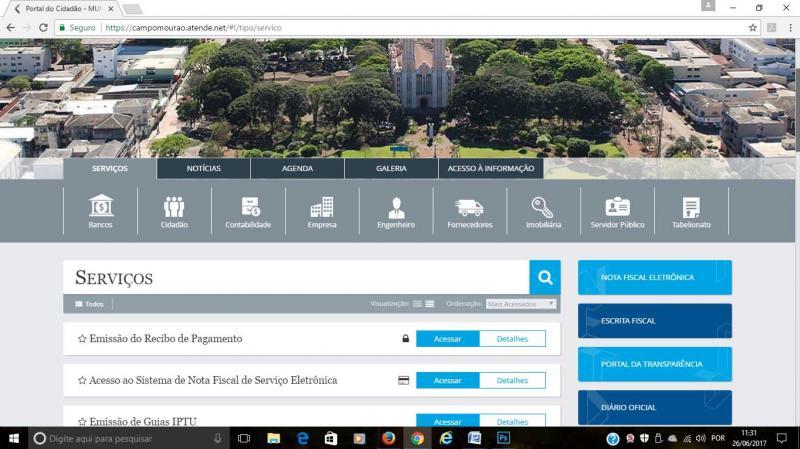 Site da Prefeitura de Campo Mourão vai mudar
