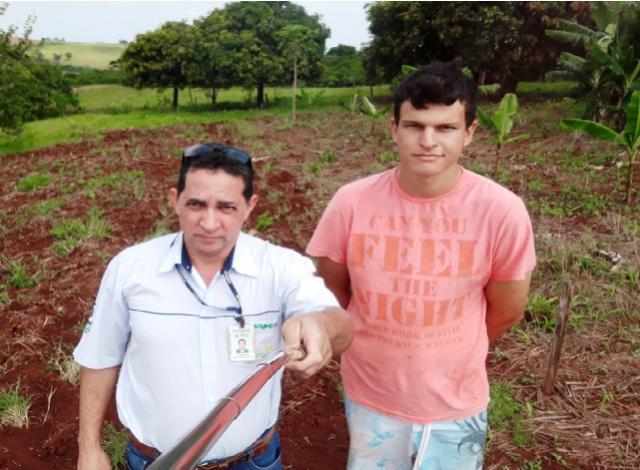 Emater e prefeitura apoiam melhoria de pastagens em Quinta do Sol