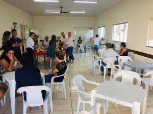 Cmeg promove café da manhã na Santa Casa de Campo Mourão