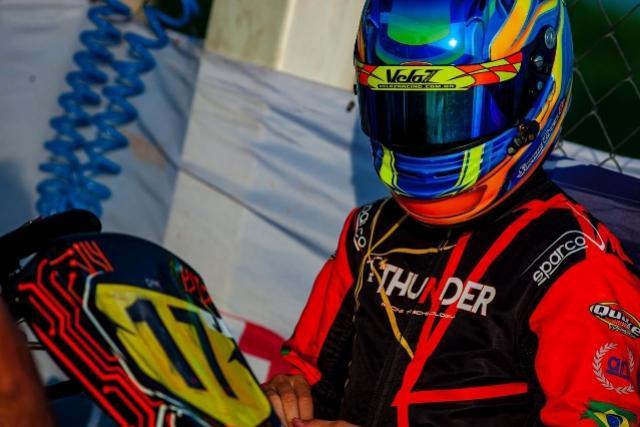 Mourãoense Samuel Cruz é vice-campeão do Troféu Ayrton Senna