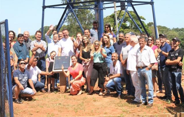 Entregue Oficialmente Rede de Água Tratada no Alto do Divino de Campo Mourão