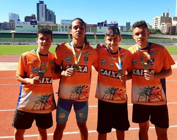 Atletismo de Campo Mourão fatura dez medalhas no Campeonato Paranaense Sub-20 em Maringá