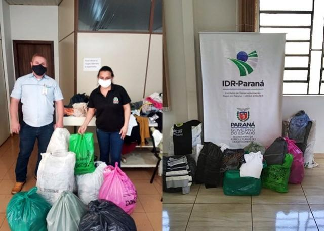 IDR-Paraná de Barbosa Ferraz promove campanha do agasalho
