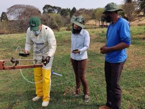 Luiziana realiza Inspeção Periódica de Pulverizadores
