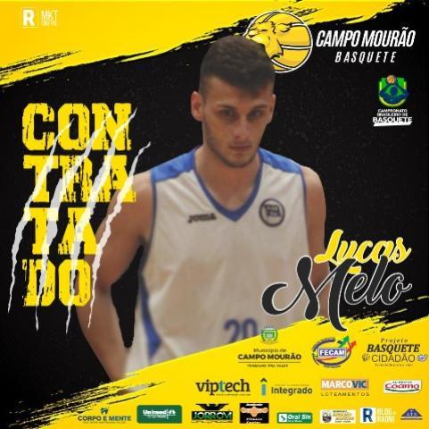 Lucas Augusto Melo é o mais novo reforço do time mourãense