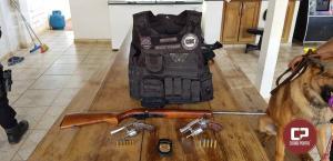 Polícia Civil cumpre mandados de busca e apreensão simultaneamente em Palmital e Laranjal