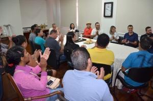 Amobasquete realiza reunião com pais de atletas do Oral Sin Campo Mourão Basquete