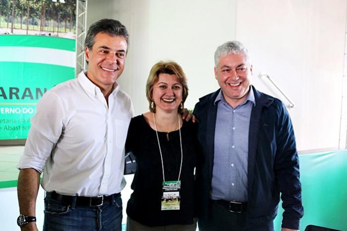 Prefeita Angela Kraus prestigia visita de Governador Beto Richa em Cianorte