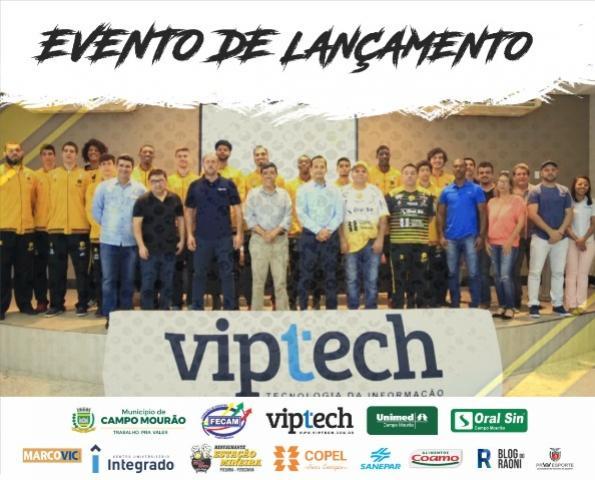 Basquete mourãoense apresenta atletas, projeto e novo patrocinador Máster