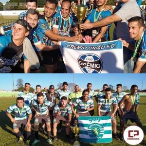 Grêmio União é o campeão do Popular de Futebol Suíço 2019