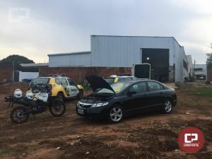 Equipes da Polícia Militar de Umuarama desmantelam quadrilha que desmanchava caminhonetes