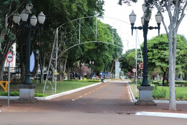 Diretran anuncia novo trecho de interdição para festas natalinas em Campo Mourão