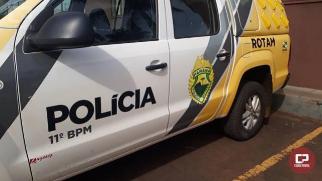 Polícia Militar de Campo Mourão recupera motocicleta furtada em Araruna