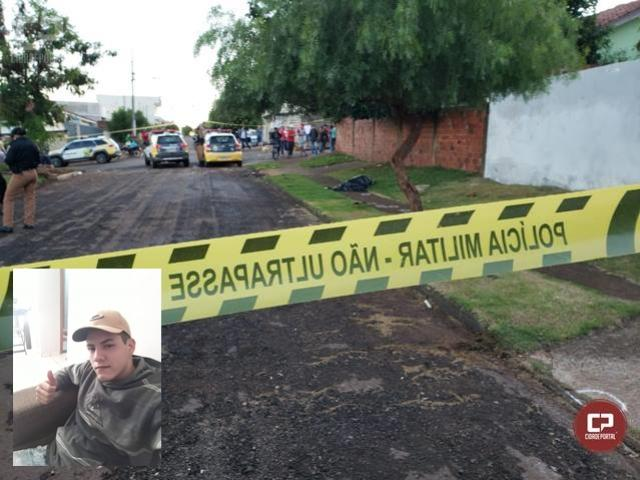 Homem é executado a tiros no conjunto Maria Barleta em Campo Mourão
