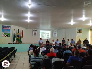 Paraná sem vacinação de aftosa e normativas do leite foram tema de seminário em Iretama