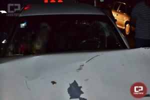 Buracos na PR-180 deixe uma pessoa ferida entre Goioerê e Moreira Sales