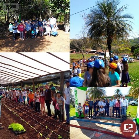 Emater e parceiros realizam dia de campo ambiental em Iretama
