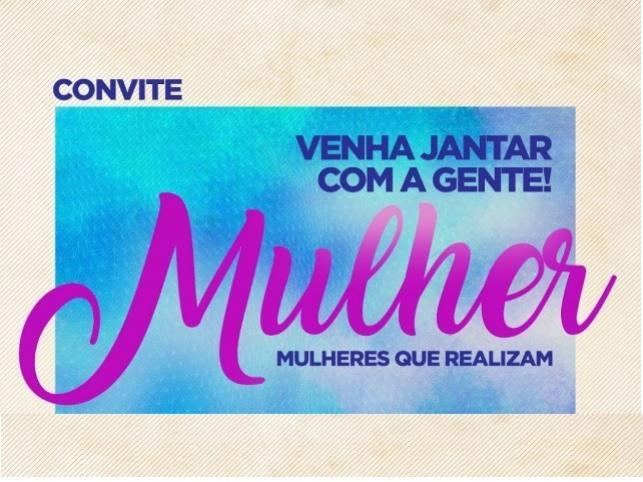 A presidente do PSDB Mulher de Farol convida você Mulher para uma confraternização