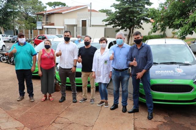 Saúde de Campo Mourão adquire cinco veículos com recursos liberados pelo Estado