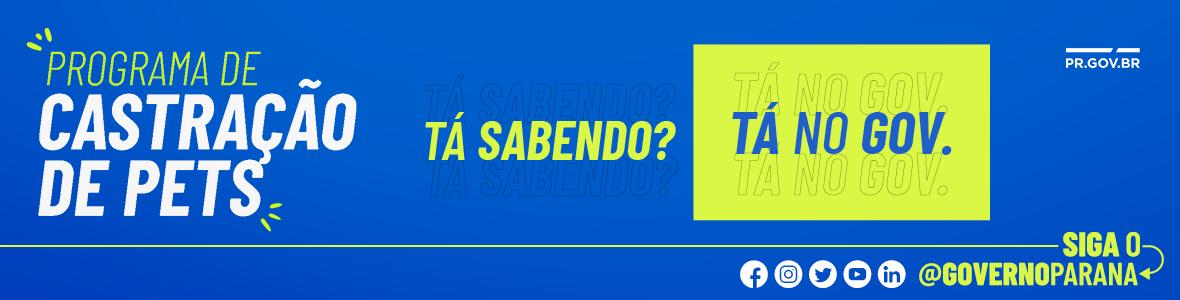 GOVERNO ENTREGAS NOTA PARANÁ