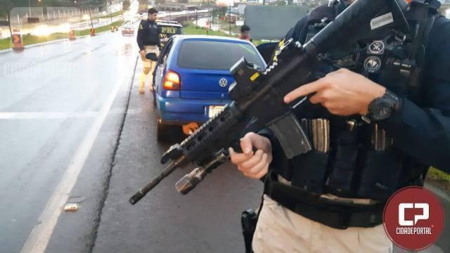 Forças Policiais realizam operação conjunta para reduzir crimes na região de Foz do Iguaçu