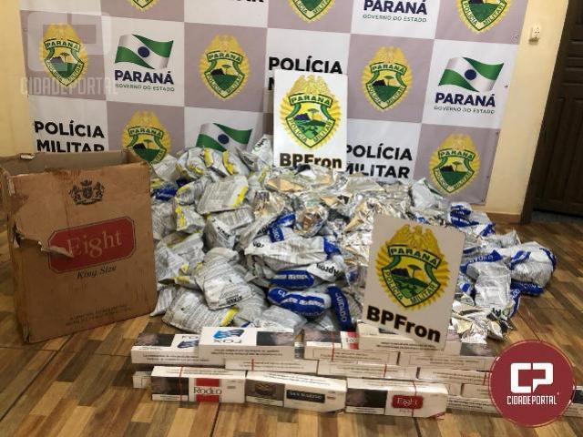 BPFRON apreende mais de 250 kg de agrotóxicos em Palotina
