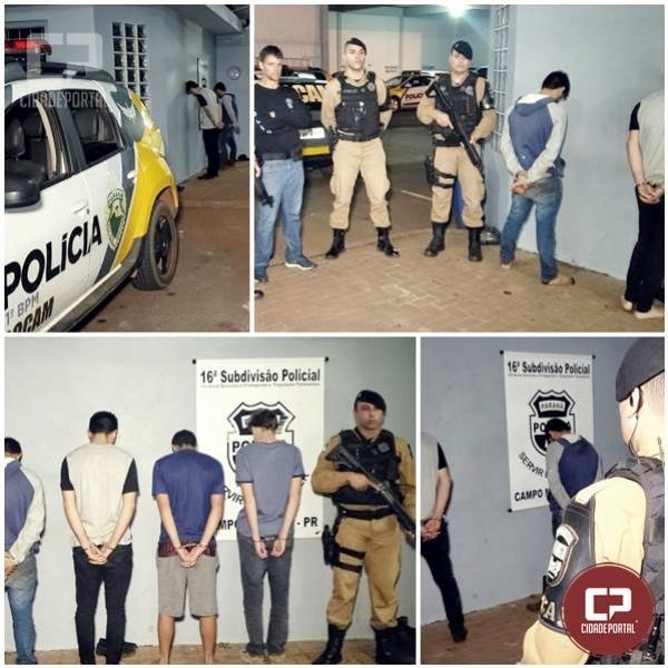 Acusado do assassinato de jovem de 20 anos em Campo Mourão é preso pela Polícia Militar