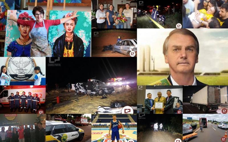 Retrospectiva 2018 - Fatos, Acontecimentos e Notícias que marcaram Campo Mourão