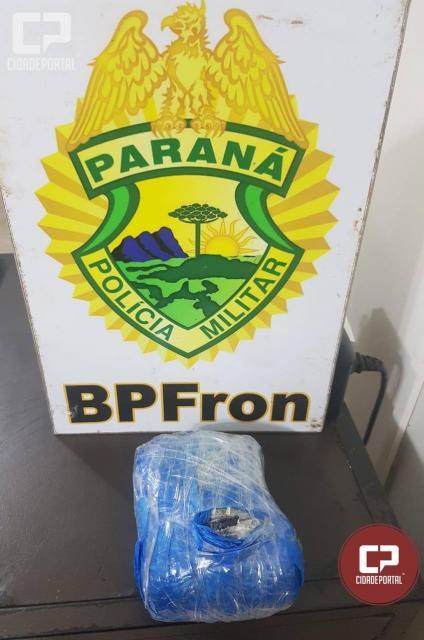 Batalhão de Polícia de Fronteira apreende narcóticos em Ônibus na cidade de Corbélia