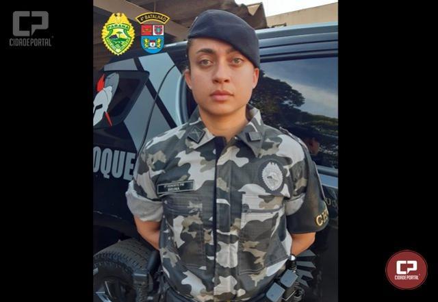 Tenente Bruna é a primeira mulher a assumir o comando de um pelotão de choque na Polícia Militar do Paraná