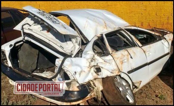 Jovem de 26 anos perde a vida em acidente automobilístico entre Bandeirante e Quarto Centenário na PR-317
